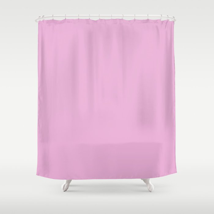 Thistle (Crayola) - solid color Shower Curtain by makeitcolorful ...