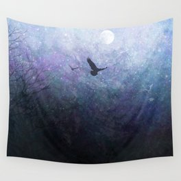Flight of the Ravens Wall Tapestry