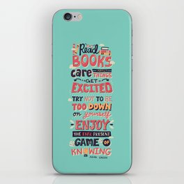 Read Books iPhone Skin