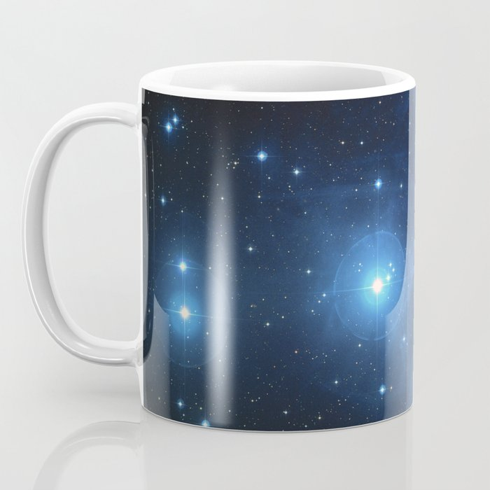 Taurus Constellation, Pleiades star cluster Coffee Mug