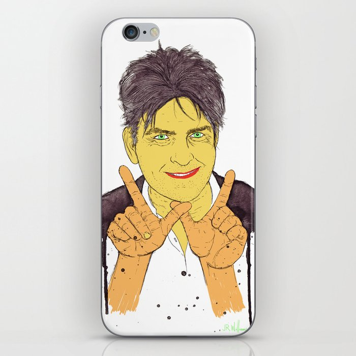 W is for Winning iPhone Skin