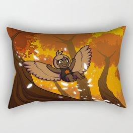 Harp's Sunset Flight Rectangular Pillow
