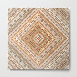 tribal, square meters, geometric pattern Metal Print
