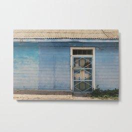 Isla mujere colofull house 2 Metal Print