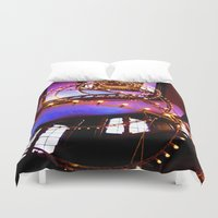 the lights Duvet Covers featuring Lights. by ellenhamilton