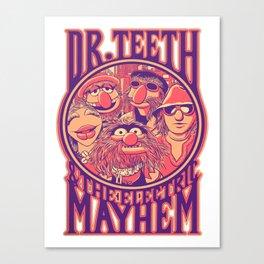 Dr Teeth Merch Canvas Print
