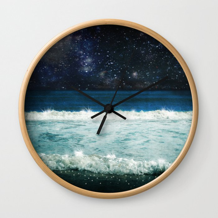 The Sound and the Silence Wall Clock