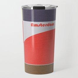 Amsterdam Mosaic Travel Mug
