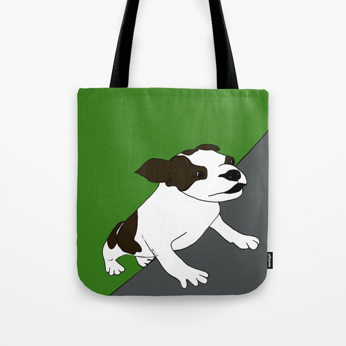 Annie The Boston Terrier Tote Bag