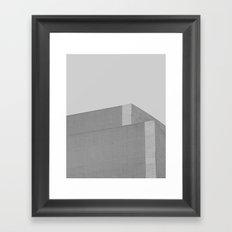 The Silence No. 1 Framed Art Print