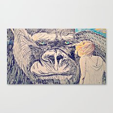 Kong for the Mikes Canvas Print
