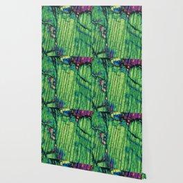 Pyroxene Crystals Wallpaper