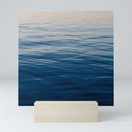 Sunset on the Dock 2 Mini Art Print