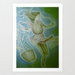 Jumprope Art Print