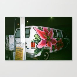 Flower Van Canvas Print