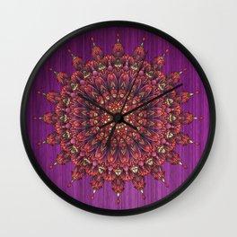 Loz Mandala Wall Clock