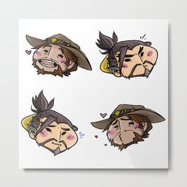 Mchanzo it up Metal Print