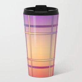 Geometric patchwork Travel Mug