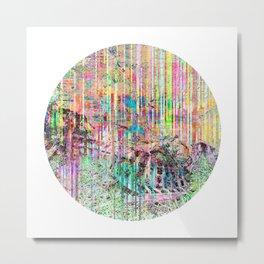 Decompose Metal Print