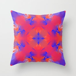 Melting Popsicle Throw Pillow