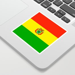 Flag of Bolivia Sticker