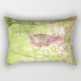 Doll and Piggie Rectangular Pillow