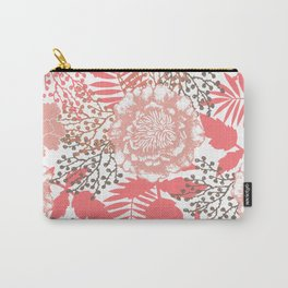 Pink peonies. Carry-All Pouch