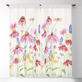 Meadow Flowers Blackout Curtain