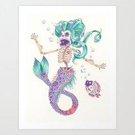 Sirens Last Song Art Print