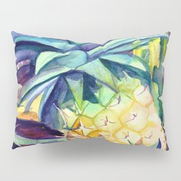 Kauai Pineapple 4 Pillow Sham