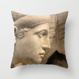 Lady of the Temple Throw Pillow