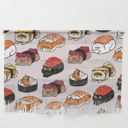 Sushi Persian Cat Wall Hanging