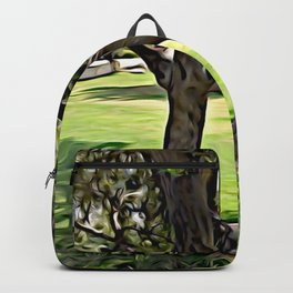 Dance of the Olive Tree Backpack