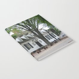 White Clapboard House - Colonial Williamsburg Notebook