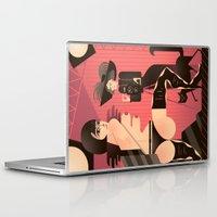 valentina Laptop & iPad Skins featuring Valentina by Gabriela Zurda