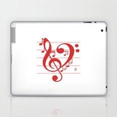 Love Music ~ Valentines Edition ~ Laptop & iPad Skin