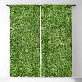Grass Textures Turf Blackout Curtain