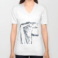 jared leto V-neck T-shirts featuring Jared Leto (gig) by idontfindyouthatinteresting