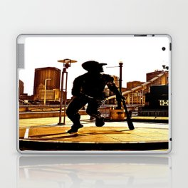 Roberto's Shadow Lives In Roberto's City Laptop & iPad Skin