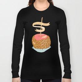 Caramel Apple om nom nom Long Sleeve T-shirt