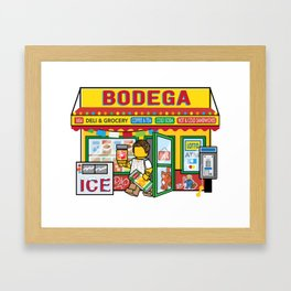 Bodega Framed Art Print
