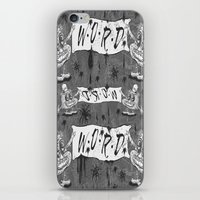 calligraphy iPhone & iPod Skins featuring Calligraphy by Amy Gale
