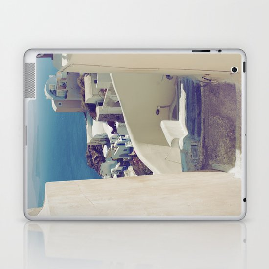 Santorini Stairs IV Laptop & iPad Skin