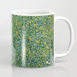 Gustav Klimt Rosebushes Under The Trees Coffee Mug