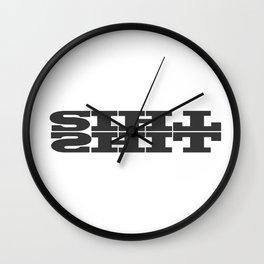 This Shit Wall Clock