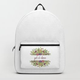 Get it done - Wild Flowers Collection Backpack