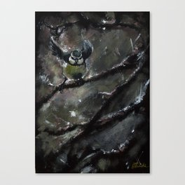 Wintry day Canvas Print