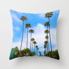 California lOVE Throw Pillow