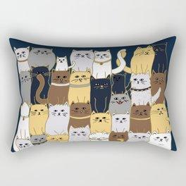The Glaring - Parisian Palette Rectangular Pillow