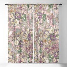 EXOTIC GARDEN XII Sheer Curtain